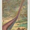Modern aqueduct.