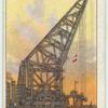 Revolving floating crane, Great Britain.