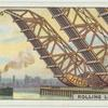 Rolling lift bridge, U.S.A.