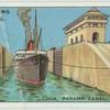 Lock, Panama Canal, Central America.