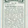 Gold-dredger, U.S.A.