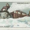 Rotary snow-plough, Canada.