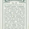 Track-layer, Canada.
