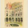 The Fountain Court, Hampton  Court.