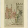 Lupton's Tower & chapel steps, Eton.
