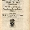 Athanasii Kircheri ...Oedipvs aegyptiacvs, ... Tomi secundi, pars altera. [Title page, vol. 2, part 2]