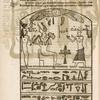 Magia hieroglyphica. (A. Osiris, B. Isis, C. Hieromantem ...)