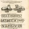 Leones Nilotici seu Momphtoei, quorum limbi sequentibus hierogl[y]phicis insigniuntur, & extant ad aquas felices, iuxta Campos Thermarum Diocletianoearum.