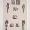 XVIIIe dynastie: 1.2. Apis V [mort sous Rathothis]; XIX dynastie: 3.4. Apis I, [mort sous Séti Ier], 5-10. Apis II, [mort l'an 16 de Ramsès II].