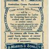Australian Green Parrakeet.