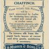 Chaffinch.