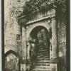 Wardour Castle: grand stair.
