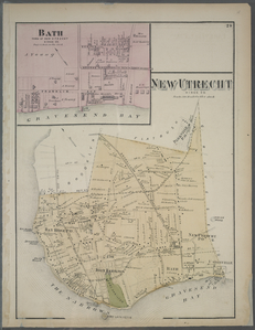 New Utrecht. Kings Co. - Bath, Town on New Utrecht, Kings Co.