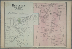 Hewletts, Town of Hempstead, Queens Co. - Baldwins, Town of Hempstead, Queens Co.