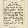 A. James, Arsenal A.F.C.