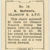 R. McPhail, Glasgow R[angers] A.F.C.