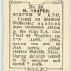 M. Hooper, Sheffield W[ednesday] A.F.C.