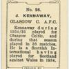J. Kennaway, Glasgow C[eltic] A.F.C.