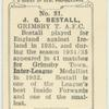 J.G. Bestall, Grimsby T[own] A.F.C.
