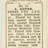 C. Napier,  Derby C[oun]ty, A.F.C