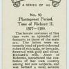 Plantagenet period. Time of Richard II. 1377-1399.