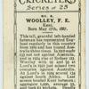 Wooley, F.E.