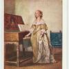 A lady, seventeenth century.