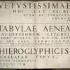 [Title page] Vetvstissimae... tabvlae aeneae Aegyptiorvm ...