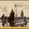 North Dome, Royal Arches, and Washington Column, Yosemite Valley, Mariposa County, Cal.