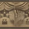 Interior view of Peabody funeral car.