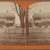 """Old house opposite the Common, 1775. [""""Press Headquarters.""""]"""