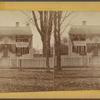 "Lexington. [Old house opposite the Common, ""Press Headquarters.""]"
