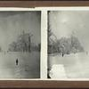 Winter scene, unidentified location.]