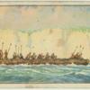 War canoe. 700-800.