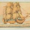 "George II. 1727-1760. [The warship ""Royal George.""]"