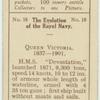 Queen Victoria. 1837-1901. [H.M.S. Devastation.]