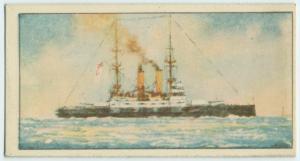 Queen Victoria. 1837-1901. [H.M.S. Formidable.]