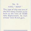 """H.M.S. """"Kent."""""""