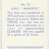 """H.M.S. """"Warspite."""""""