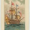 A sixteenth century warship.