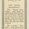 "The ""Royal Sovereign."""