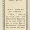 """H.M.S. """"Duke of Wellington."""""""