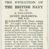 A Galleon. Queen Elizabeth, 1600 A.D.