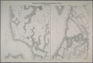 Sheet No. 19. [Includes Marks Creek, Prall's River and part of Bloomfield.] - Sheet No. 35. [Includes Chelsea and part of Prall's Island.]