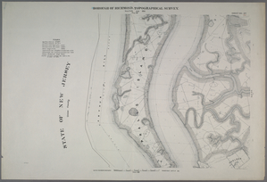 Sheet No. 27. [Includes Prall's Island, and Saw Mill River Estuary.]
