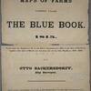 Maps of farms commonly called the Blue book, 1815 : drawn from the original on file in the street commissioner's office in the City of New York, together with lines of streets and avenues