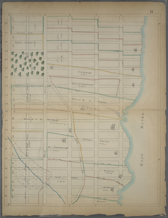 Page 11: [Bounded by E. 72nd Street (Upper East side), East River, E. 53rd Street and (Park) Fourth Avenue.]