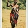 Südafrikanischer Krieger.