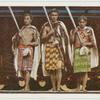 Maori-Häuptlinge.