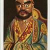Buddhistische Götterbilder. Bodhidharma.